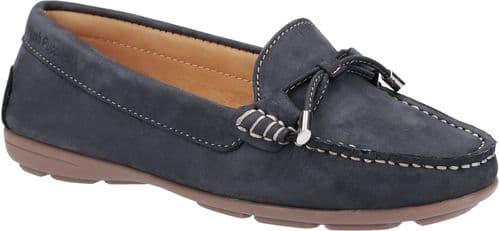 Hush Puppies Maggie Slip On Ladies Shoes Navy